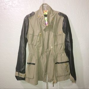 Steve Madden military inspired jacket